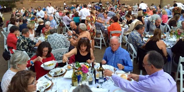 Dinner in park Carmichael CA